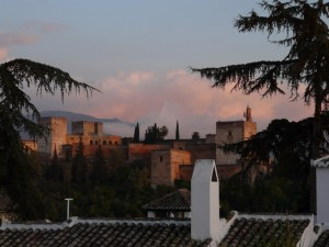 Sunset on Alhambra