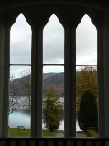 Abbey Window view