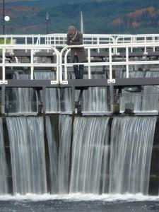 Locks on Canal
