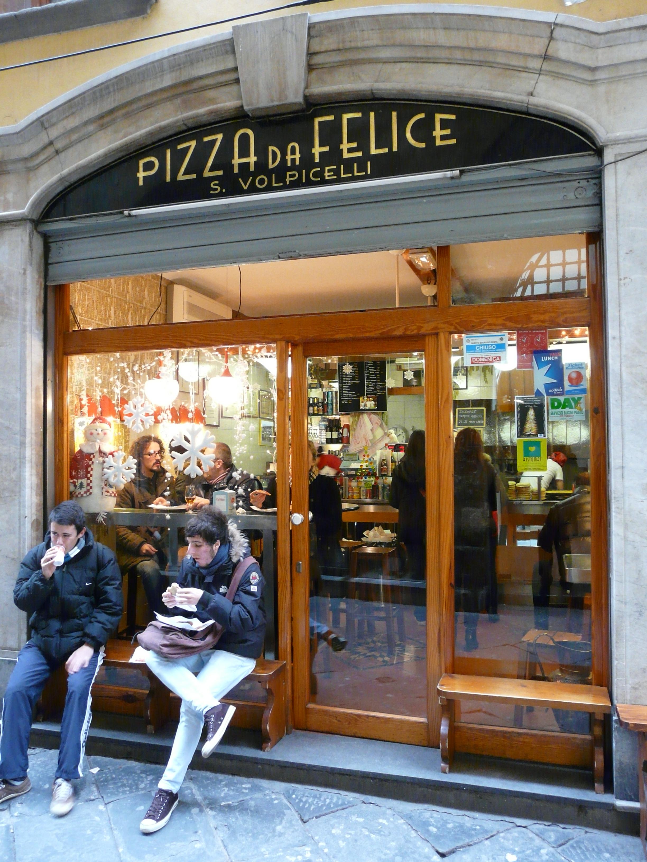 Italian Restaurant Near Me: Pizza Da Felice, Lucca