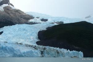 Spegazini Glaciar - the tallest
