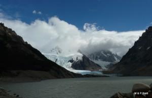 Glacier and Laguna Torre