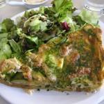 Tarta and Salad
