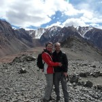 3850m up in the Andes!