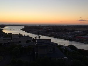 Whanganui by sunset